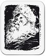 Силиконов печат - Дядо Коледа - Размер 5 x 6 cm -