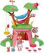 """Ливи в къщата на дървото - Мини кукла с фигурки и аксесоари от серията """"Mini Chou Chou"""" -"""