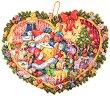 Адвент календар - Коледно сърце - календар