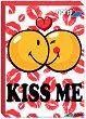"""Kiss me - Мини пъзел от серията """"SmileyWorld"""" -"""