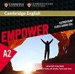 Empower - Elementary (A2): 3 CD с аудиоматериали по английски език - Adrian Doff, Craig Thaine, Herbert Puchta, Jeff Stranks, Peter Lewis-Jones - книга