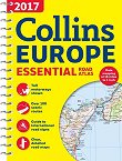 Collins Europe Essential Road Atlas 2017 -