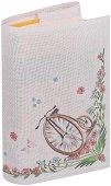 Текстилна подвързия за книга: Колело -