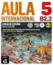 Aula Internacional - Ниво 5 (B2.2): Учебник + CD Учебна система по испански език - Segunda edicion - книга за учителя