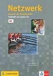 Netzwerk - ниво B1: Помагало с тестове по немски език + CD - Kirsten Althaus, Hildegard Meister -