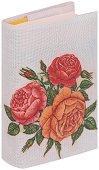 Текстилна подвързия за книга: Рози - продукт