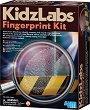 """Снемане на пръстови отпечатъци - Детски образователен комплект от серията """"Kidz Labs"""" -"""