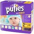 Pufies Baby Art & Dry 2 - Mini - Пелени за еднократна употреба за бебета с тегло от 3 до 6 kg -