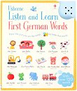 Listen and Learn First German Words - Sam Taplin, Mairi Mackinnon -
