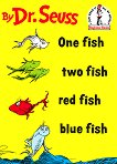 One Fish, Two Fish, Red Fish, Blue Fish Book & CD - Dr. Seuss - детска книга