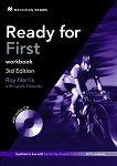 Ready for First - Upper Intermediate (B2): Учебна тетрадка без отговори + CD Учебен курс по английски език - Third Edition -