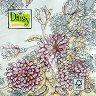 Салфетки за декупаж - Разцъфващи цветя - Пакет от 20 броя -