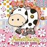 Салфетки за декупаж - Крава и цветенца - Пакет от 20 броя -