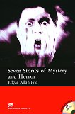 Macmillan Readers - Elementary: Seven Stories of Mystery and Horror + extra exercises and 2 CDs - Edgar Allan Poe - книга