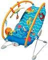 Бебешки шезлонг - Gymini Bouncer Under the Sea - С вибрация и мелодии -