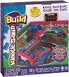 """Кинетичен пясък - Колички - Творчески комплект от серията - """"Kinetic sand: Build"""" -"""