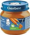 """Nestle Gerber - Пюре от моркови - Бурканче от 80 g от серията """"Моето първо"""" -"""