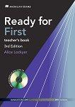 Ready for First - Upper Intermediate (B2): Книга за учителя + DVD-ROM и 2 CDs с аудиоматериали Учебен курс по английски език - Third Edition - учебник