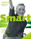 Smart - Beginner: Книга за учителя с отговори : Учебна система по английски език - David A. Hill, Michael Vince -