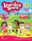 Learning Stars - Ниво 1: Учебник без отговори + CD-ROM : Учебна система по английски език - Jeanne Perrett, Jill Leighton -