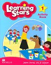 Learning Stars - Ниво 1: Учебна тетрадка : Учебна система по английски език - Jeanne Perrett, Jill Leighton - книга