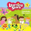 Learning Stars - Ниво 1: 2 CDs с аудиоматериали : Учебна система по английски език - Jeanne Perrett, Jill Leighton - учебна тетрадка