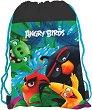 Детски сак с връзки - Angry Birds -