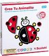 Декорирай животните - Детски образователен комплект с велкро лепенки -