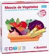 Научи зеленчуците - Детски образователен комплект с велкро лепенки -