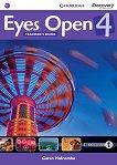 Eyes Open - Ниво 4 (B1): Книга за учителя : Учебна система по английски език - Garan Holcombe -