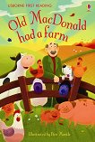Usborne First Reading - Level 1: Old MacDonald had a Farm - книга