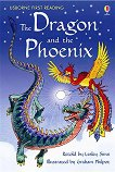 Usborne First Reading - Level 2: The Dragon and the Phoenix - Lesley Sims - учебна тетрадка