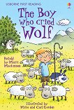 Usborne First Reading - Level 3: The Boy Who Cried Wolf - Mairi Mackinnon -