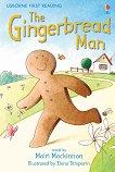 Usborne First Reading - Level 3: The Gingerbread Man - Mairi Mackinnon -