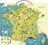 Магнитен пъзел - Франция - Оливер Хюет  (Oliver Huette) -