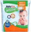 Babylino Sensitive - Maxi Plus 4+ - Пелени за еднократна употреба за бебета с тегло от 9 до 20 kg -