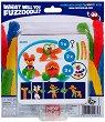 """Направи сам гъвкаво чудовище - Clip'n Carry: Orange - Творчески комплект от серията """"Fuzzoodles"""" -"""