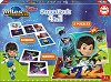 Miles From Tomorrowland - 4 в 1 - Комплект от домино, мемо игра и 2 пъзела -