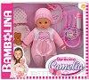 """Говорещо бебе - Камелия - Кукла с аксесоари от серията """"Bambolina"""" -"""