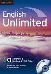 English Unlimited - ниво Advanced (C1): Комплект по английски език Combo B + 2 DVD-ROM - Adrian Doff, Ben Goldstein, Maggie Baigent -