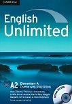 English Unlimited - ниво Elementary (A2): Combo A + 2 DVD-ROM : Учебна система по английски език - Alex Tilbury, Theresa Clementson, Leslie Anne Hendra, David Rea, Maggie Baigent, Chris Cavey -