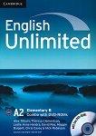 English Unlimited - ниво Elementary (A2): Combo B + 2 DVD-ROM : Учебна система по английски език - Alex Tilbury, Theresa Clementson, Leslie Anne Hendra, David Rea, Maggie Baigent, Chris Cavey -