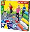 Завърти и скочи - Детска занимателна игра - игра