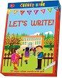 Let's write - Образователни карти на английски език с маркер - игра