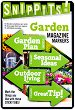 Самозалепващи отметки - Garden - Комплект от 100 броя с размери 4.7 x 3 cm -
