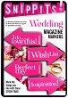 Самозалепващи отметки - Wedding - Комплект от 100 броя с размери 4.7 x 3 cm -