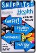 Самозалепващи отметки - Health and Fitness - 100 броя с размери 4.7 x 3 cm -