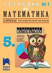 Тетрадка по математика № 1 за 5. клас - учебник