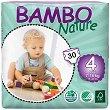 Bambo Nature - Maxi 4 - Еко пелени за еднократна употреба за бебета с тегло от 7 до 18 kg -