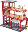 Пожарна станция - Дървена играчка -